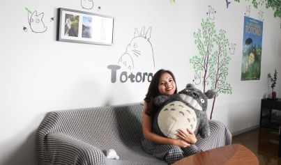 Me with Totoro!